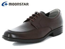 ムーンスター バランスワークス MOONSTAR BALANCE WORKS SPH4603 DBR ダークブラウン メンズ ビジネスシューズ