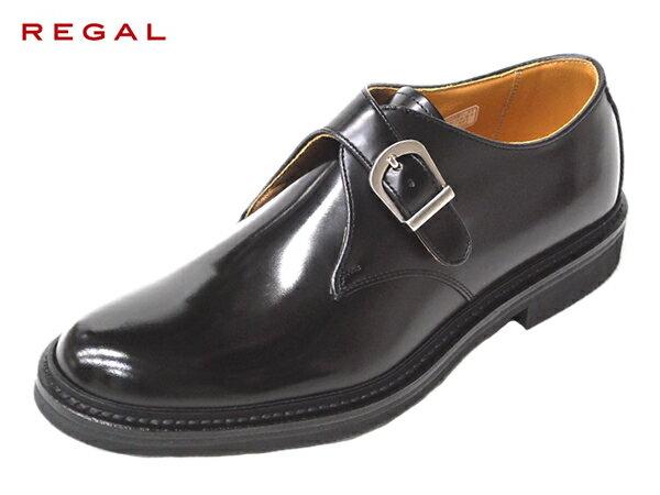 リーガル 正規品 モンクストラップ REGAL JU16 AG BLK ブラック メンズ ビジネスシューズ 人気 紳士靴