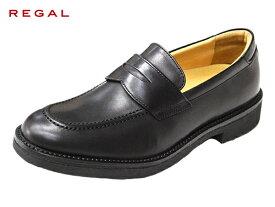 リーガル 正規品 リーガルウォーカーREGAL WALKER 146W AH BLK ブラック ウォーキング ビジネス ローファー 紳士靴