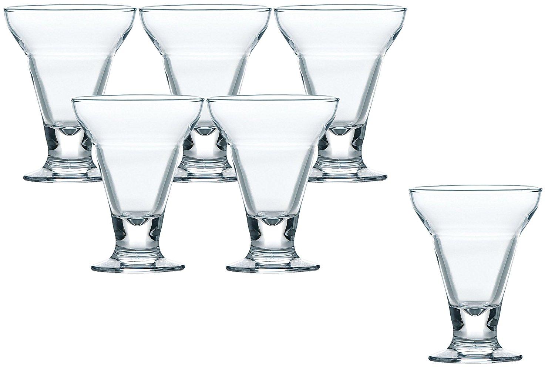 パフェグラス アイス・サンデーカップ 195ml 6個入り 36201HS 4906678152958