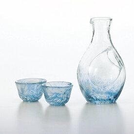 とっくり おちょこ 酒器セット 盃2個55mlと徳利1個300mlのセット 酒グラスコレクション 東洋佐々木ガラス G604-M70