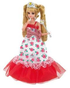 玩具 楽しく遊べるおもちゃ・着せ替え人形 リカちゃん人形 きせかえドレス LW-15 フラワープリンセス 生産終了品 ※人形は別売です 〈大人・子供向けおもちゃ 女の子向け コレクシ
