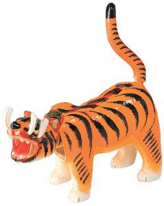 一年中飾れます! 張子の虎 10号サイズ 日本製 〈張り子の虎 張子のトラ 張り子のトラ はりこのとら 動物の置物 トラのお飾り 和のインテリアに 国内・海外へのお土産、贈答品に プレ