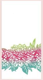 花しらべ 和紙熨斗袋 のし袋 切り絵 柄:ダリア 3枚入り