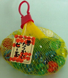 日本製 伝統玩具 昔のおもちゃ ビー玉 〈郷土玩具 びー玉 ビーだま ラムネ玉〉