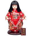 送料無料 久月作 市松人形 いちまさん 友禅 〈東京久月 人形の久月市松人形 いちまつにんぎょう 日本人形 和人形…