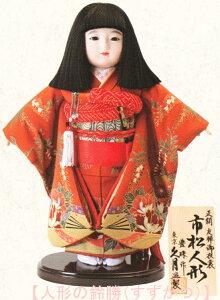 送料無料 久月監製 豊珠作 正絹友禅 市松人形 いちまさん 〈東京久月 人形の久月市松人形 いちまつにんぎょう 日本人形 和人形 和服衣装着人形 伝統人形 衣裳着人形 衣装着人形 着物