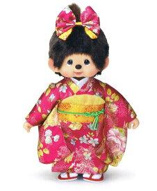 モンチッチ ぬいぐるみ 振袖モンチッチ 女の子 L 〈Monchhichi もんちっち キャラクター縫い包み 縫いぐるみ ヌイグルミ 人形 通販〉