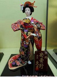 久月作 日本人形(尾山人形) 6号 正絹 【安曇野】 Japanese doll 〈日本の伝統品 にほんにんぎょう 和人形 お人形 和の置物・お飾り・インテリア 日本のおみやげ 海外・外国へのお土産・プレゼントにもおススメです! 通販〉