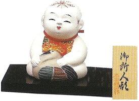 久月監製 錦染作 日本人形(御所人形) 【鶴】 Japanese doll 〈東京浅草橋久月 日本の伝統品 にほんにんぎょう 和人形 お人形 和の置物・お飾り・インテリア 日本のおみやげ 海外・外国へのお土産・プレゼントにもおススメです! 通販〉