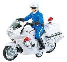 働く車コレクション ミニカー ミニチュアバイク 趣味の玩具・模型 長さ26cm はたらくのりもの サウンドポリスバイク 白バイ模型 ハイウェイパトロールミニサイズバイク 〈バイク模型 白バイ隊員 オートバイ、モーターバイク模型 オモチャの通販〉