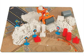 愉快能被閒置的玩具、玩具fuwafuwa?!變硬?!供ARA夏娃~天使的沙子~圧路機〈小孩使用作為不思議的沙子太陽的小孩小孩的玩,進行幼兒遊戲沙池遊戲型遊戲修路工程建機郵購的〉