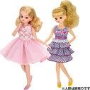 玩具 楽しく遊べるおもちゃ・着せ替え人形 リカちゃん人形 きせかえドレス LW-17 おねえさんワンピ&プリティーワ…