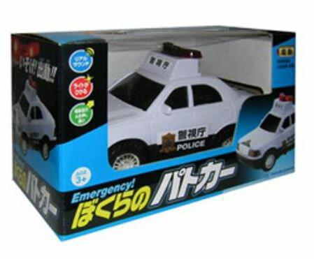 乗用車コレクション カーコレクション 趣味の玩具・模型 たのしいおもちゃたち ハイメカシリーズ いそげ!ぼくらのパトカー 〈自動車模型 車両模型 けいさつしゃりょう こどものオモチャ ミニカー 警察車両 パトロールカー 働く車 police car〉