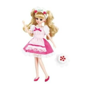 楽しく遊べる玩具・着せ替え人形 リカちゃん人形 きせかえドレス LW-10 あこがれのケーキやさん ※人形は別売です 〈大人・子供向けおもちゃ 女の子向け コレクション きせかえ人