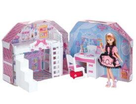 楽しく遊べる玩具・着せ替え人形 リカちゃん人形 リカちゃんハウス すてきなリカちゃんのおへや ※人形・ランドセルは別売です 〈大人・子供向けおもちゃ 女の子向け コレクション きせかえ人形 ファッションドール 香山リカ 洋服 衣装 着替え〉