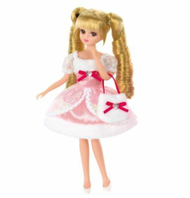 楽しく遊べる玩具・着せ替え人形 リカちゃん人形 きせかえドレス LW-14 ふんわりパーティードレス ※人形は別売です 〈大人・子供向けおもちゃ 女の子向け コレクション きせかえ人形 ファッションドール 香山リカ Licca-chan 洋服 衣装 着替え〉