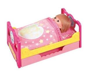 楽しく遊べる玩具・着せ替え人形 愛育ドールのメルちゃん おかたづけもできちゃう! いっしょにおねんねベッド ※人形・小物は別売です。 〈大人・子供向けおもちゃ 女の子向け コ