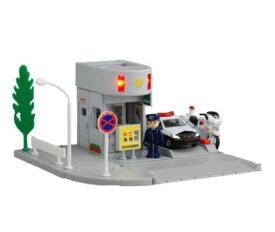 楽しく遊べるおもちゃ・玩具 カーコレクション ミニカー トミカタウン 交番 プラキッズ1体付き  ※トミカ(ミニカー)は別売りです。 〈趣味・コレクション玩具 大人・子供向け 自動車模型 通販〉