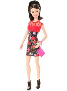 【生産終了品】 玩具 楽しく遊べるおもちゃ・着せ替え人形 女の子の夢をかなえるファッションドール CFG15 バービーファッショニスタ(ラクエル) Barbie Fashionistas (Raquelle) 〈玩具 お