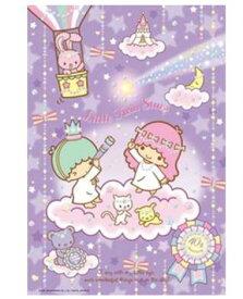 アニメーションジグソーパズル 趣味のパズル サンリオシリーズ 300ピース 【33-101 キキ&ララ40周年】 キラキラホロシール付き 〈Sanrio Little Twin Stars jigsaw puzzle 玩具 おもちゃ リトルツインスターズ 300ピース知育 通販〉