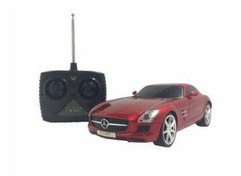ホビーラジコン 趣味の玩具・模型 カーコレクション  RC 1/24 メルセデス・ベンツ SLS AMG 〈R/Cカー RCカー ラジオコントロールカー オンロードラジコンカー 無線操縦 Mercedes-Benz スーパーカー 自動車模型 大人・子供向け玩具 おもちゃ〉