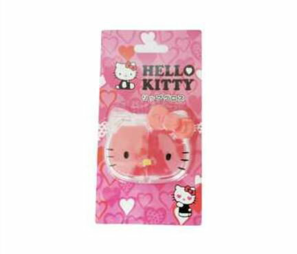 玩具 楽しく遊べるおもちゃ・キッズコスメ キティの顔型コンパクトに入った可愛いコスメ♪ ハローキティ リップグロス 002 〈子供用 子ども こどものおもちゃ 幼児 女の子向け 子供用化粧品 HalloKitty lipgloss キティちゃん 通販〉