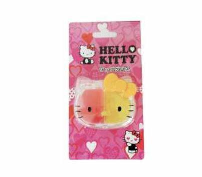 玩具 楽しく遊べるおもちゃ・キッズコスメ キティの顔型コンパクトに入った可愛いコスメ♪ ハローキティ リップグロス 005 〈子供用 子ども こどものおもちゃ 幼児 女の子向け 子供用化粧品 HalloKitty lipgloss キティちゃん 通販〉