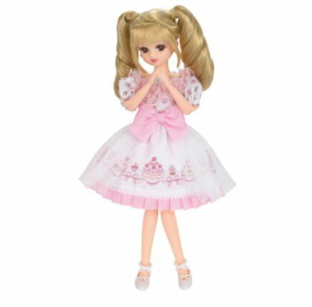 玩具 楽しく遊べるおもちゃ・着せ替え人形 リカちゃん人形 きせかえドレス LW-07 ふんわりスイーツ ※人形は別売です 〈大人・子供向けおもちゃ 女の子向け コレクション ファッションドール 香山リカ Licca-chan 洋服 衣装 着替え 通販〉