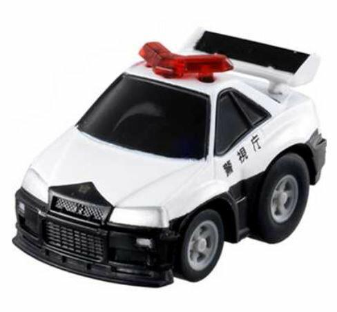 楽しく遊べるおもちゃ・玩具 乗用車コレクション カーコレクション チョロQ Q-11 スカイラインGT−R(R34)パトロールカー 〈趣味・コレクション玩具 大人・子供向け 自動車模型 ミニカー チョロキュー ぜんまい 日産自動車 NISSAN 通販〉