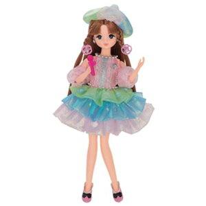 玩具 楽しく遊べるおもちゃ・着せ替え人形 リカちゃん人形 きせかえドレス キラかみ ドレスセット スターライトステージ ※人形は別売です 〈大人・子供向けおもちゃ 女の子向け
