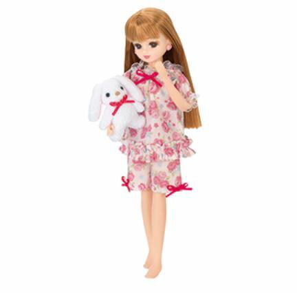 玩具 楽しく遊べるおもちゃ・着せ替え人形 リカちゃん人形 きせかえドレス LW-05 ゆめみるパジャマ ※人形は別売です 〈大人・子供向けおもちゃ 女の子向け コレクション ファッションドール 香山リカ Licca-chan 洋服 衣装 着替え 通販〉