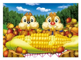 アニメーションジグソーパズルシリーズ 趣味のパズル ディズニーシリーズ ステンドアートジグソーぎゅっと266ピースパズル 【DSG-266-732 ハッピー♥ランチ】 〈Disney jigsaw puzzle 玩具 おもちゃ チップ&デール 266ピース知育〉