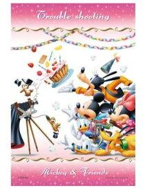アニメーションジグソーパズルシリーズ 趣味のパズル ディズニーシリーズ 70ピース 世界最小クラスの透明ピースパズル 【97-48 シャッタートラブル】 〈Disney jigsaw puzzle 玩具 おもちゃ ミッキー&フレンズ 70ピース知育〉