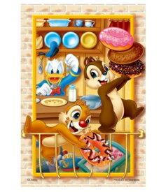 アニメーションジグソーパズルシリーズ 趣味のパズル ディズニーシリーズ 204ピースパズル 【98-573 スイーツ・ルーム】 〈Disney jigsaw puzzle 玩具 おもちゃ ミッキー&フレンズ チップとデール 204ピース知育〉