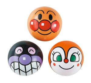 玩具 おもちゃ それいけ!アンパンマン アンパンマン・ばいきんまん・ドキンちゃんのビニールボール3点セット カラーボール3点セット 3号サイズ 〈小さいボール 3号ボール 子供用