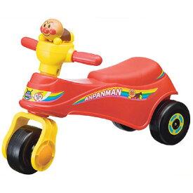 小さなお子様にも安心です!乗用玩具 乗り物のおもちゃ アンパンマンの楽しい三輪車 アンパンマン わんぱくライダー 〈子供用 子ども 幼児用 足蹴り 足けり車 足けり三輪車 三輪車 玩具 のりもの あんぱんまん 通販〉