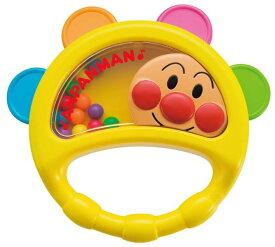 おもちゃ ベビー玩具 楽器 アンパンマン しゃらしゃらベビー用タンバリン 〈子供用 子ども 幼児用 乳児 赤ちゃん用 あかちゃん ベビーグッズ Baby Toys あんぱんまん Anpanman たんばりん がっきのおもちゃ 音感玩具 リズム玩具 知育玩具 楽器玩具〉