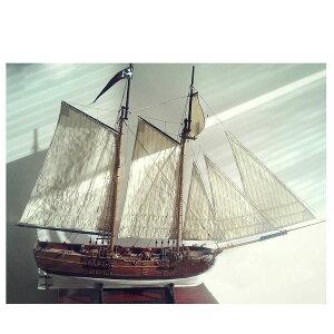 船モデルキット DIY 教育 帆船 模型 木製船 マリン風 1/60 黒ひげの海賊船冒険 プレゼント【領収発行可】