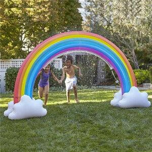 238 センチメートル巨大な Rianbow クラウドヤードスプリンクラー子供のための大人の夏裏庭屋外水のおもちゃプールアクセサリー子供