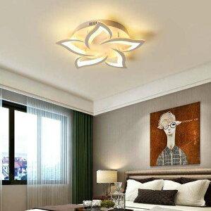 シーリングライトLED ペンダントライトランプ 天井照明器具 シャンデリア 花 国内 6畳〜約10畳用 電球黄/白 選択可