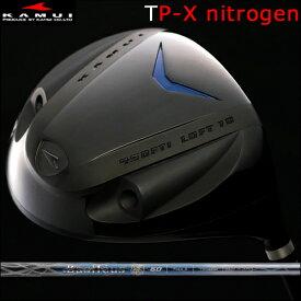 【Kamui/カムイ】TP-X NITROGEN (窒素ガス封入) Typhoon Pro DRIVER窒素ガス+発泡タイプ/フェースマーク「銀」ドライバーBasileus Spada 2(バシレウス スパーダ2)カーボンシャフト