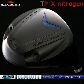 【Kamui/カムイ】TP-X NITROGEN (窒素ガス封入) Typhoon Pro DRIVER窒素ガスタイプ/フェースマーク赤ドライバーTourAD VRカーボンシャフト
