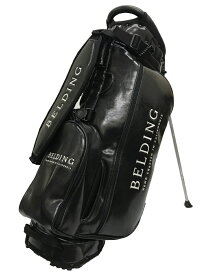 【BELDING/ベルディング】HBCB-850137サンバード 2.0 スタンドバッグブラック・グレーズ・11インチロゴキャディバッグ