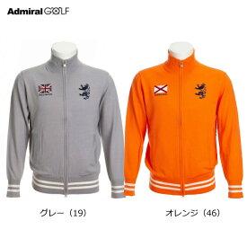 【Admiral /アドミラルゴルフ】ADMA083メンズ フラッグ フルジップニット