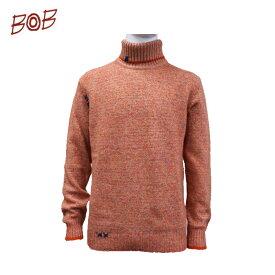 【BOB ボブ 】2020年秋冬モデルメンズ タートルセーター072701717