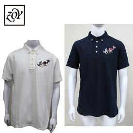 【ZOY/ゾーイ】メンズ ストレッチ 半袖ポロシャツ 瀧下和之 コラボ071219010