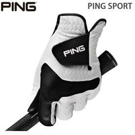 【PING/ピンゴルフ】SPORT 33794 GLOVEメンズ ゴルフグローブ【2枚のみネコポス対応】