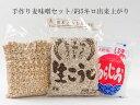 手作り味噌セット(麦味噌)/5キロ出来上がり