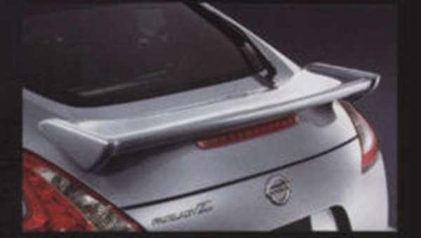 『フェアレディーZ』 純正 Z34 S-tune リヤスポイラー (#QAB、#NAG、#NAM) パーツ 日産純正部品 ルーフスポイラー リアスポイラー FAIRLADYZ オプション アクセサリー 用品